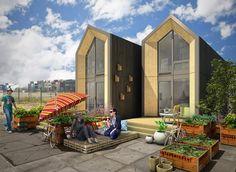 Wordt Dit Unieke, Verplaatsbare Huis Jouw Tijdelijke Woning? Sprookje Huis,  Kleine Kamers,