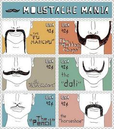 moustache mania :)