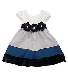 Product Information Brand Name: Rare Editions Item Description: Little Girls' Dresses Size: Colour: Navy, Silver, Ivory Pickup Available (Lagos Only) Toddler Girl Dresses, Girls Dresses, Summer Dresses, Toddler Girls, Social Dresses, Colorblock Dress, Traditional Dresses, Color Blocking, Kids Fashion