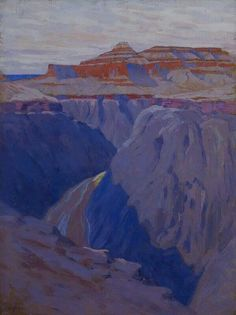 Grand Canyon by Arthur Wesley Dow. At Mpls Institute of Art
