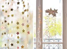 Decoración navideña con niños: bonito móvil de estrellas y estrellitas   Fiestas infantiles y cumpleaños de niños