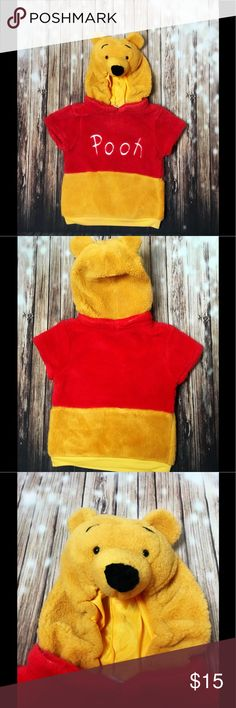 *HALLOWEEN* Disney Winnie the Pooh Toddler Costume EUC!! Toddler size 3T-4T Adorable Fuzzy Costume. Authentic by Disney perfect for Halloween! Disney Costumes Halloween