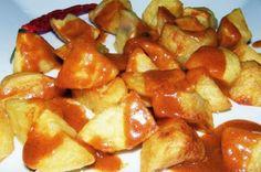 Varomeando: Patatas bravas