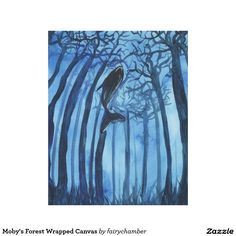 Moby's Forest Wrapped Canvas