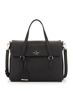 holden+street+leslie+satchel+bag,+black+by+kate+spade+new+york+at+Neiman+Marcus.
