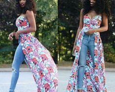 Ankara Top African Clothing African Print Top by Sosomeshop African Print Dresses, African Wear, African Attire, African Fashion Dresses, African Women, African Dress, African Style, Ankara Fashion, African Prints