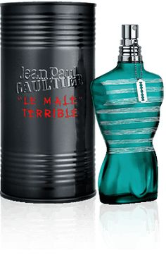Jean Paul Gaultier – Parfums homme – Le Male. Love love love this scent on men