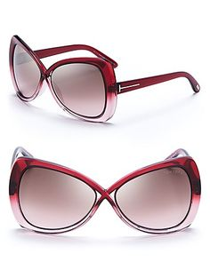 Tom Ford Jade Oversized Crossover Sunglasses | Bloomingdale's