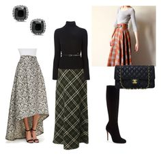 """""""Like a Boss"""" by siobhanlester on Polyvore featuring NOIR Sachin + Babi, Burberry, Dsquared2, Christian Louboutin and Chanel"""