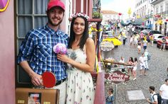- Segunda-feira - O Forrest Gump levou sua Jane para o carnaval de Ouro Preto