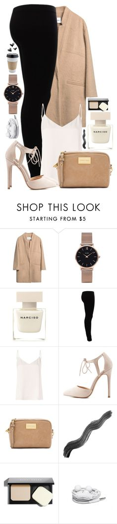 """""""#22"""" by oneandonlyfashion ❤ liked on Polyvore featuring CLUSE, Narciso Rodriguez, Gestuz, L'Agence, Charlotte Russe, Bobbi Brown Cosmetics and Urbanears"""