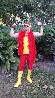 Coolest Hulk Hogan Costume Idea... This website is the Pinterest of costumes