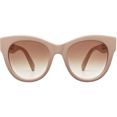 9d3b4998d62 Stella McCartney Statement Sunglasses ( 305) ❤ liked on Polyvore featuring  accessories