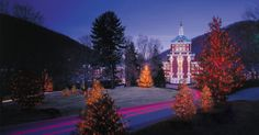 Virginia Resort & Virginia Spa | The Omni Homestead Resort & The Spa at The Omni Homestead - Number 60 in top 100 spas in U.S. in Conde Nast.  New adults-only spa garden w/ thermal hot springs!