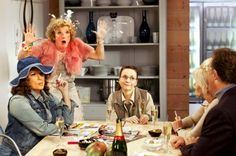 Ab Fab. (Absolutely Fabulous show)  Hilarious.  Always.