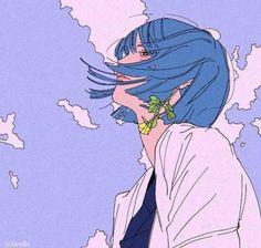 300+ hình nền anime buồn miễn phí cho những ngày tâm trạng - BlogAnChoi Art Anime, Anime Art Girl, Manga Art, Fuchs Illustration, Japon Illustration, Pretty Art, Cute Art, Aesthetic Art, Aesthetic Anime
