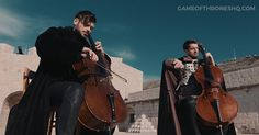 Watch 2CELLOS perform #TheRainsOfCastamere and #GameOfThrones theme medley in the real #KingsLanding... http://gameofthroneshq.com/2cellos-performs-epic-game-of-thrones-medley-in-real-kings-landing/
