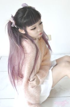 dollyfrills:  naomilku:  久しぶり。 Read More  OMG I want your hair ♡