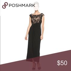 Evening Gown 'Women's Connected Apparel Soutache Evening Gown' from Kohl's. Worn once for a wedding. Size 16. Currently on sale at Kohl's for $62.99. Dresses