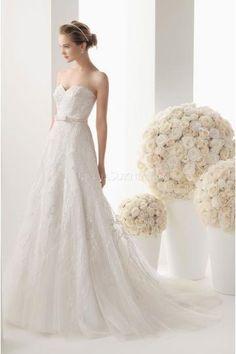 Softnetz Bodenlang Schlichte Preiswerte Brautkleider