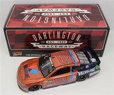 Dale Earnhardt Jr Diecast 88 2015 Valvoline Darlington Throwback 1/24 Vintage Nascar | DiecastCarsNow.com