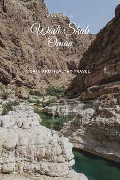 Hiking in the Wadi Shab is a must-do on your tour in thes amazing sultenate of Oman! After a nice walk you can swim until you reach the waterfall! Travel Advise, Travel Plan, Irrigation Pipe, Enjoying The Sun, Beautiful World, Beautiful Places, Outdoor Woman, Ultimate Travel, Travel Information