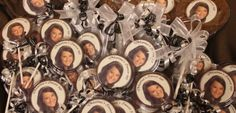 Personalized Sweet Sixteen Lollipops with an edible image! $6.49  #birthday #gifts #party favors