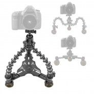 Check out the CineSkates System, developed for smooth camera motion