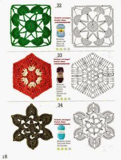 Transcendent Crochet a Solid Granny Square Ideas. Inconceivable Crochet a Solid Granny Square Ideas. Crochet Coaster Pattern, Crochet Motif Patterns, Crochet Blocks, Crochet Diagram, Crochet Squares, Crochet Chart, Love Crochet, Diy Crochet, Crochet Designs