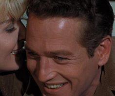 My favorite photo of Paul Newman and Joanne Woodward from A New Kind of Love