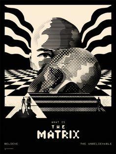 Matrix #alternative #movie#art#poster #complex #illustration #film #creative