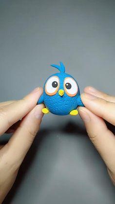 Cute Polymer Clay, Cute Clay, Polymer Clay Miniatures, Polymer Clay Projects, Polymer Clay Creations, Clay Crafts For Kids, Kids Clay, Diy Crafts For Gifts, Creative Food Art
