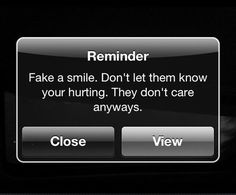 Fake A Smile Pictures, Photos, and Images for Facebook, Tumblr, Pinterest, and Twitter