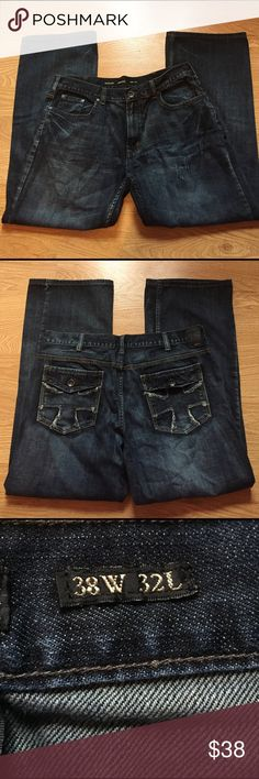 Men's Helix jeans 28X32.. like new!! Men's Helix jeans sz 38X32 Relaxed boot.  Like new condition!! Helix Jeans Relaxed