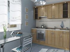Gray paint color ideas for modern kitchen design, stylish and elegant staging to sell