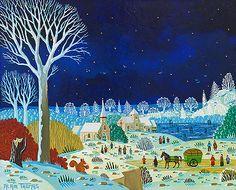 Biographie du peintre Alain THOMAS Alain Thomas, Folk Art, Paradis, Arts, Creative, Illustration, Bright, Paintings, Colorful