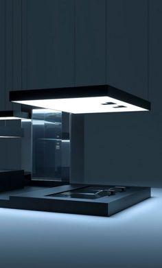 futuristic bathroom, TRON, future architecture, futuristic interior, tron legacy, futuristic home, modern interior by FuturisticNews.com