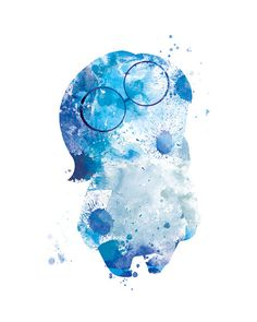 Sadness Print Sadness Inside Out Printable Watercolor by sPRINNT
