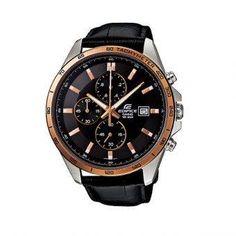 Casio Jam Tangan Pria Edifice EFR-512L-1AVDF - Black Gold
