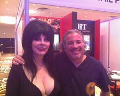 Dr. Mike and The Mistress of the Dark Elvira