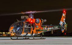 Фото обои вертолет, аэродром, Gazelle