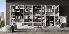 דגם מילאנו - עיצוב ספריות לפי דרישת הלקוח