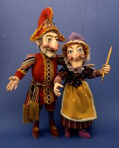 The infamous Punch and Judy