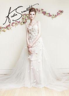 Austin Scarlett Spring 2016 Wedding Dresses - World of Bridal Prom Dresses For Sale, Wedding Dresses For Sale, Designer Wedding Dresses, Gown Designer, Dresses 2016, Beautiful Wedding Gowns, Beautiful Dresses, Dream Wedding, Bridal Collection