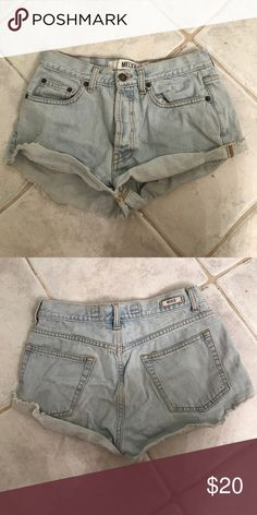 """Brandy Melville Shorts """"rare"""" I honestly didn't't even know I owned these until the appeared during my spring cleaning so I am not sure if they have ever been worn or the condition they came in, but these brandy shorts does NOT have any stains or rips. 🚫 no trades unless I ask first. I only sell on Poshmark. if you have any questions before buying I would love to answer them!!! please offer using the offer button 😇 (I am actually pretty reasonable so don't be scared to make an offer!)…"""