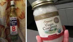 Vous pouvez utiliser de l'huile d'olive, de ricin, de sésame ... Ce nettoyant pour la peau se liera avec votre sébum pour éliminer et retirer les impuretés.