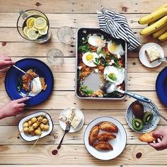 I want all of this for breakfast // looks delish @tenthousandthspoon #mycommontable