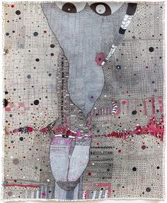 Odd and intriguing - Paintings by Huguette Caland