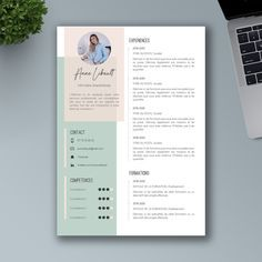 Resume Design, Logo Design, Graphic Design, Rainy Day Wallpaper, Beau Cv, Cv Template, Templates, Curriculum Design, Cover Letters