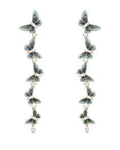 Butterflies earrings by Ilgiz Fazulzyanov